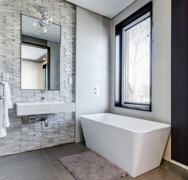 Tác dụng chống thấm của ron gạch ở nhà vệ sinh